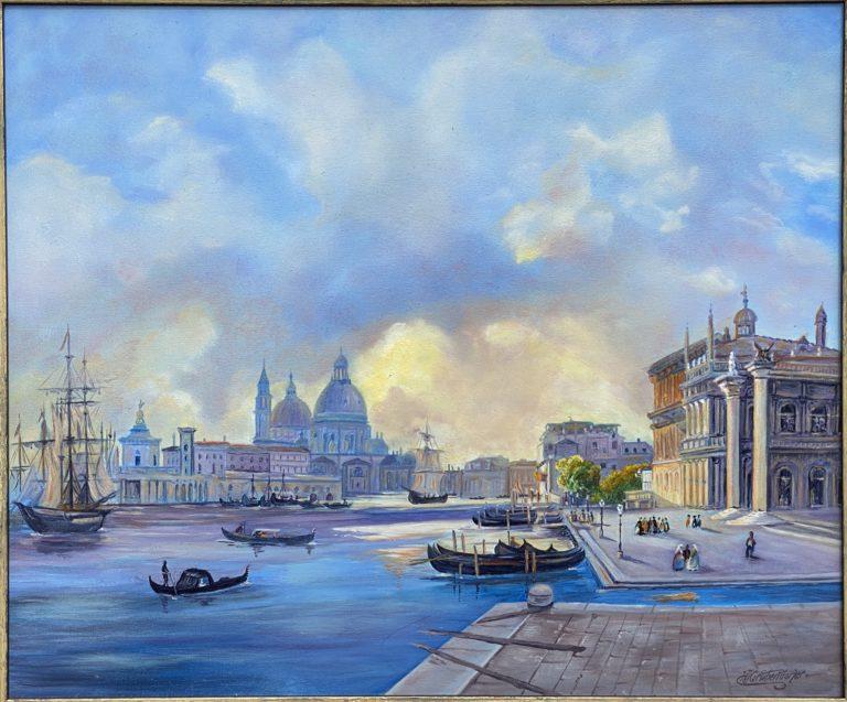 Venedig Sonnenstrahlen